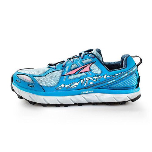 Altra Women's Lone Peak 3.5 Running Shoe Blue - Shop now @ Shoolu.com