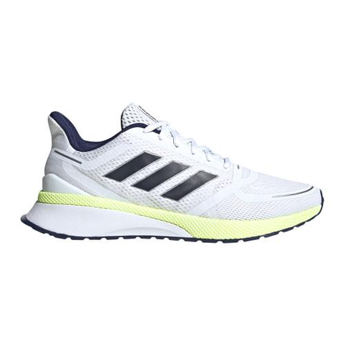 New Adidas Men's Nova Run Running Shoe White/Legend Ink - Shop now @ Shoolu.com
