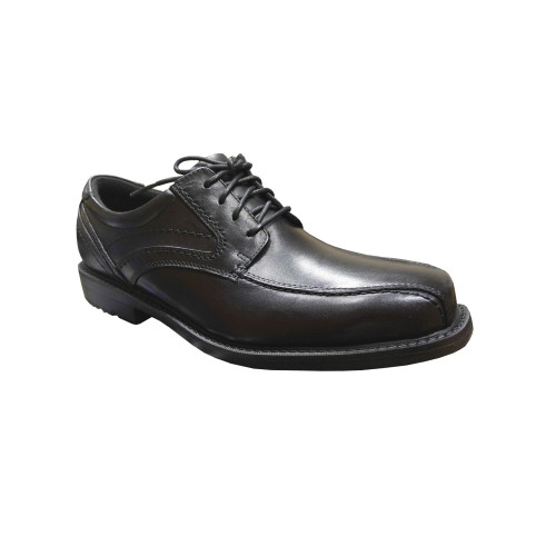 Rockport Men's Classic Tradition Bike Toe Oxford Black - Shop now @ Shoolu.com