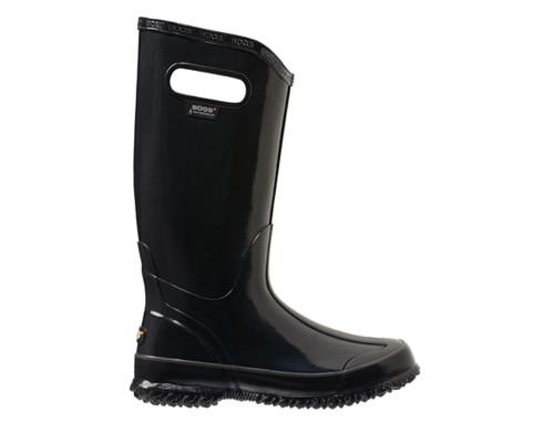 Bogs Women's Solid Color Lightweight Rain Boot Black - Shop now @ Shoolu.com