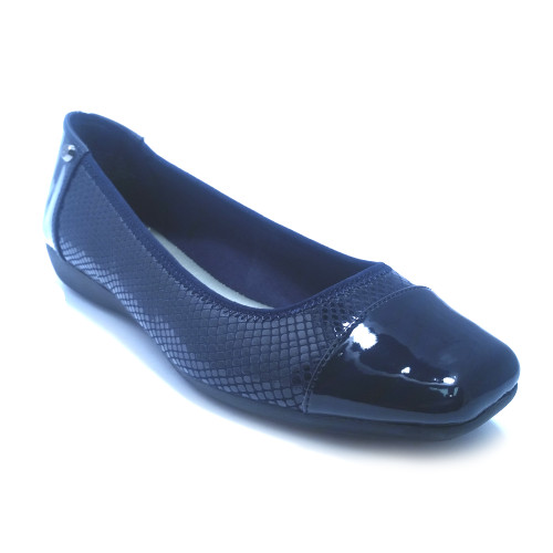 Anne Klein Sport Women's Ursa Flat Navy - Shop now @ Shoolu.com