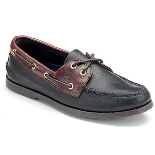 Sperry A/O Blk/Amaretto - Shop now @ Shoolu.com