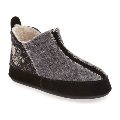 Acorn Women's Forest Bootie Slipper Grey Squirrel - Shop now @ Shoolu.com