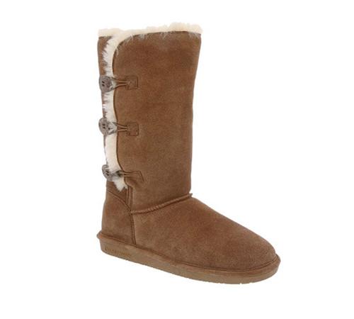 Bearpaw Women's Lauren Boot Hickory - Shop now @ Shoolu.com