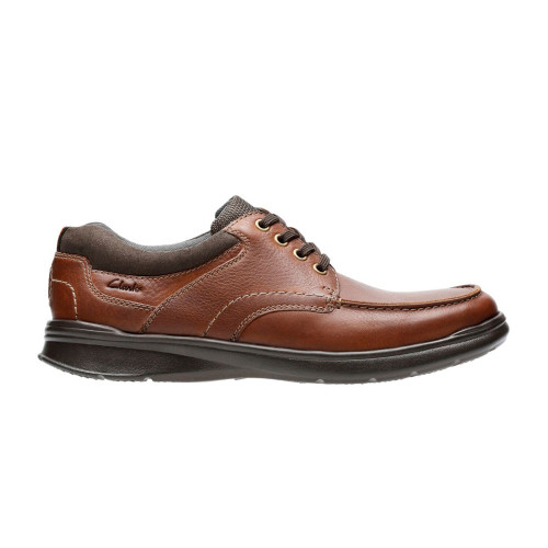 Clarks Men's Cotrell Edge Casual Oxford Tobacco Leather - Shop now @ Shoolu.com