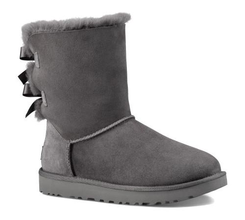 UGG Women's Bailey Bow II Boot Grey - Shop now @ Shoolu.com