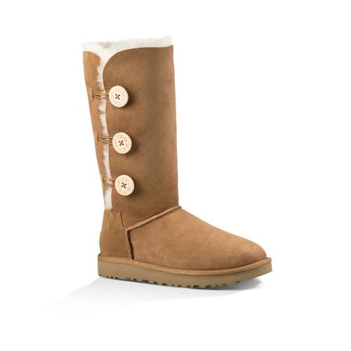 UGG Women's Bailey Button Triplet II Boot Chestnut - Shop now @ Shoolu.com
