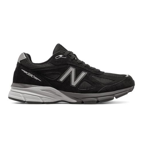 New Balance Men's M990BK4 Running Shoe Black/Silver - Shop now @ Shoolu.com