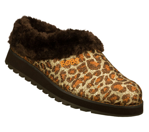 Skechers Bobs Women's Keepsakes Jungle Slippers Leopard - Shop now @ Shoolu.com