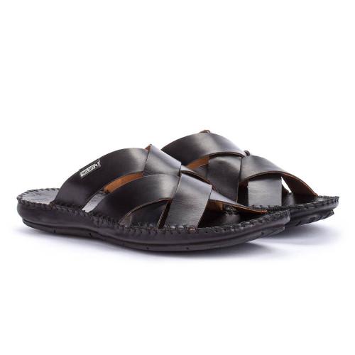 0a6e9106872a Pikolinos Men s Tarifa 06J-0015 Slide Black - Shop now   Shoolu.com