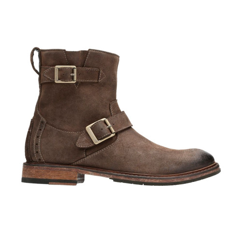 Clarks Men's Clarkdale Cash Ankle Boot Brown Nubuck - Shop now @ Shoolu.com