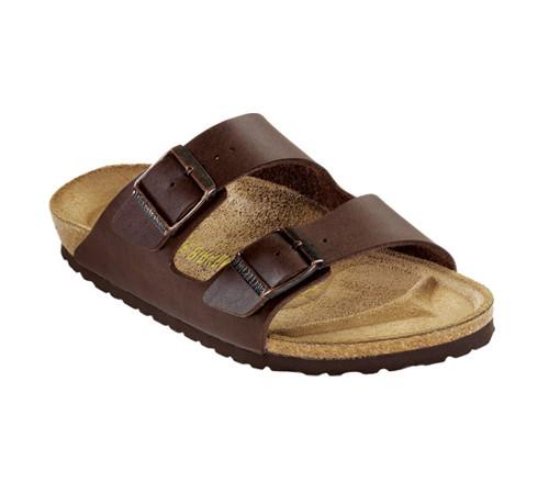 Birkenstock Men's Arizona Sandal Dark Brown BF - Shop now @ Shoolu.com