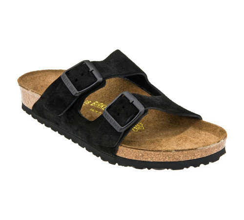 Birkenstock Unisex Arizona SF Sandal Black Suede 951323 - Shop now @ Shoolu.com