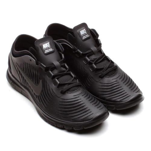 super popular 82217 691cb Nike Free Balanza Black Black Ladies Cross Trainers - Shop now   Shoolu.com