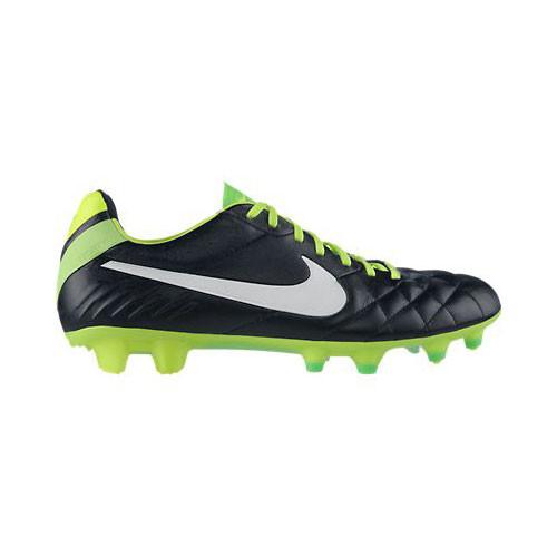 sports shoes a2f93 9ef63 Nike Tiempo Legend IV FG Black/Green - | Discount Nike Men's ...