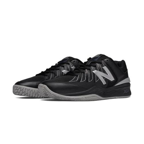 New Balance Men's MC1006BS Tennis Shoe Black/Silver - Shop now @ Shoolu.com