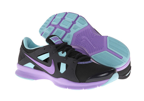 ab5bc8216 Nike Women s In Season TR 3 Cross Trainers Anthracite Violet - Shop now    Shoolu