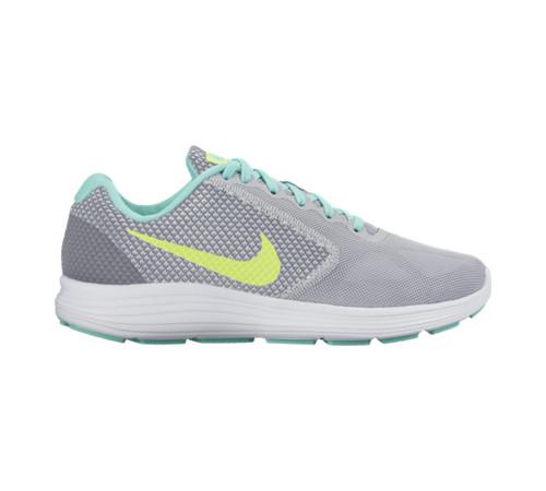 the latest 6ae64 c7190 Nike Women s Revolution 3 Running Shoe Grey Volt - Shop now   Shoolu.com