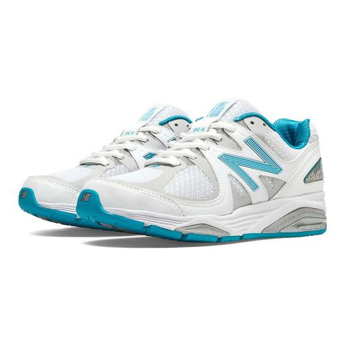 New Balance Women's W1540WB2 Running Shoe White/Blue Bell - Shop now @ Shoolu.com