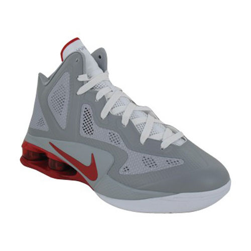 online retailer 326f4 af0bf Nike Shox Air Hyperballer Grey Red - Shop now   Shoolu.com