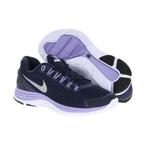 Nike Lunarglide + 4 Violet