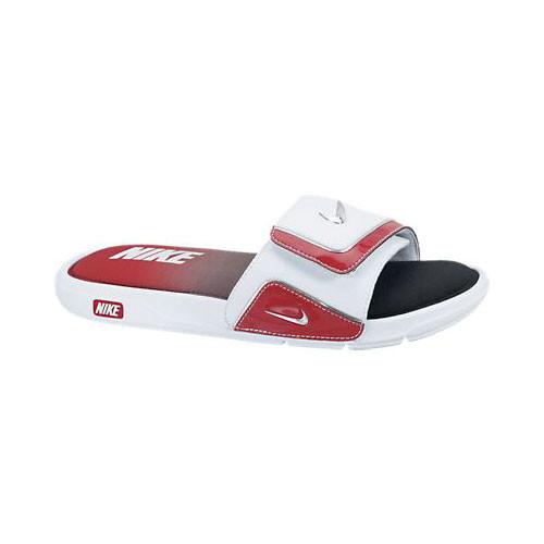 7b543c18b Nike Comfort Slide 2 White Red - Shop now   Shoolu.com