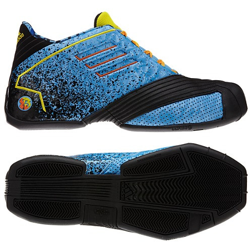 8101307c527680 Adidas TMAC-1 Blue Orange Yellow Mens Basketball Shoes - Shop now