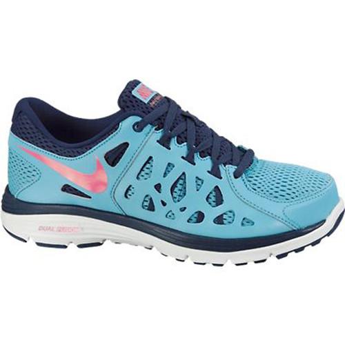 021054e29c324 Nike Dual Fusion Run 2 Blue Pink Ladies Running Shoes - Shop now   Shoolu
