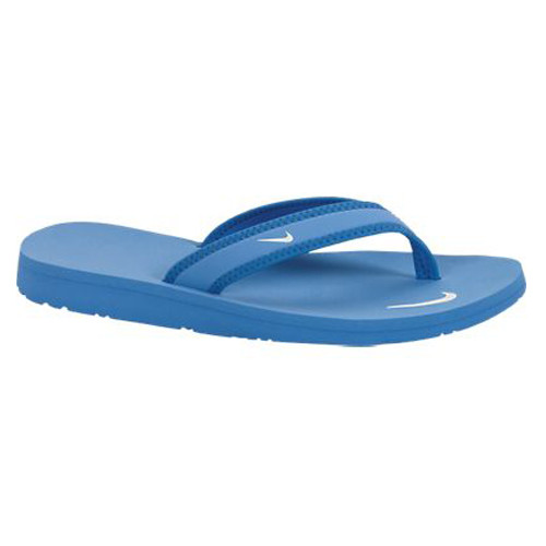 dc4de7736aa7 Nike Celso Girl Thong Distance Blue Ladies Flip Flops - Shop now    Shoolu.com
