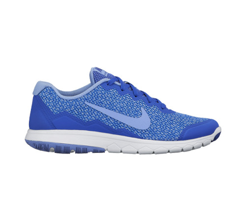 277b61187974 Nike Women s Flex Experience RN 4 Prem Running Shoe Blue White - Shop now