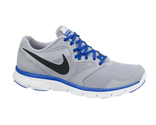 728fabd4613f Nike Men s Flex Experience Run 3 Running Shoes Grey Cobalt - Shop now    Shoolu