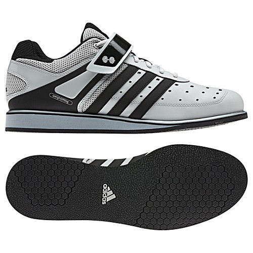 fabbf2266e24 Adidas Power Lift Trainer Black Silver Mens Weightlifting Shoes - Shop now    Shoolu.