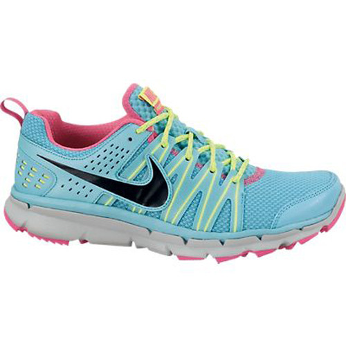 46b102ac298 Nike Flex Trail 2 Blue Pink Ladies Running Shoes - Gamma Blue Volt ...