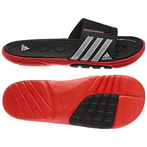 7b92fc6156d2 Adidas adiZero Slide 3 SC Black Red Mens Sandals - Shop now   Shoolu.