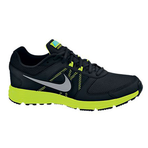 1878e09bc0766 Nike Air Relentless 3 Black Volt Mens Running Shoes - Shop now   Shoolu.