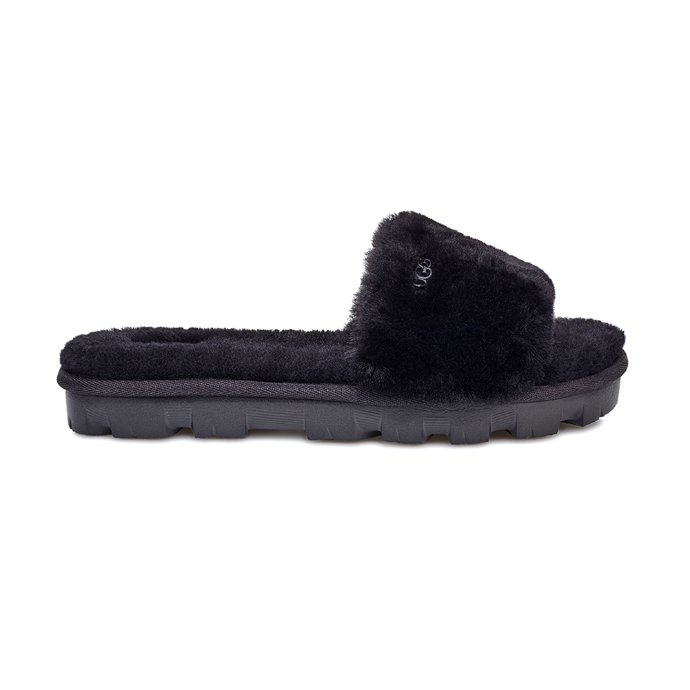 5eb43aca9cbe UGG Women s Cozette Slide Slipper Black - Shop now   Shoolu.com