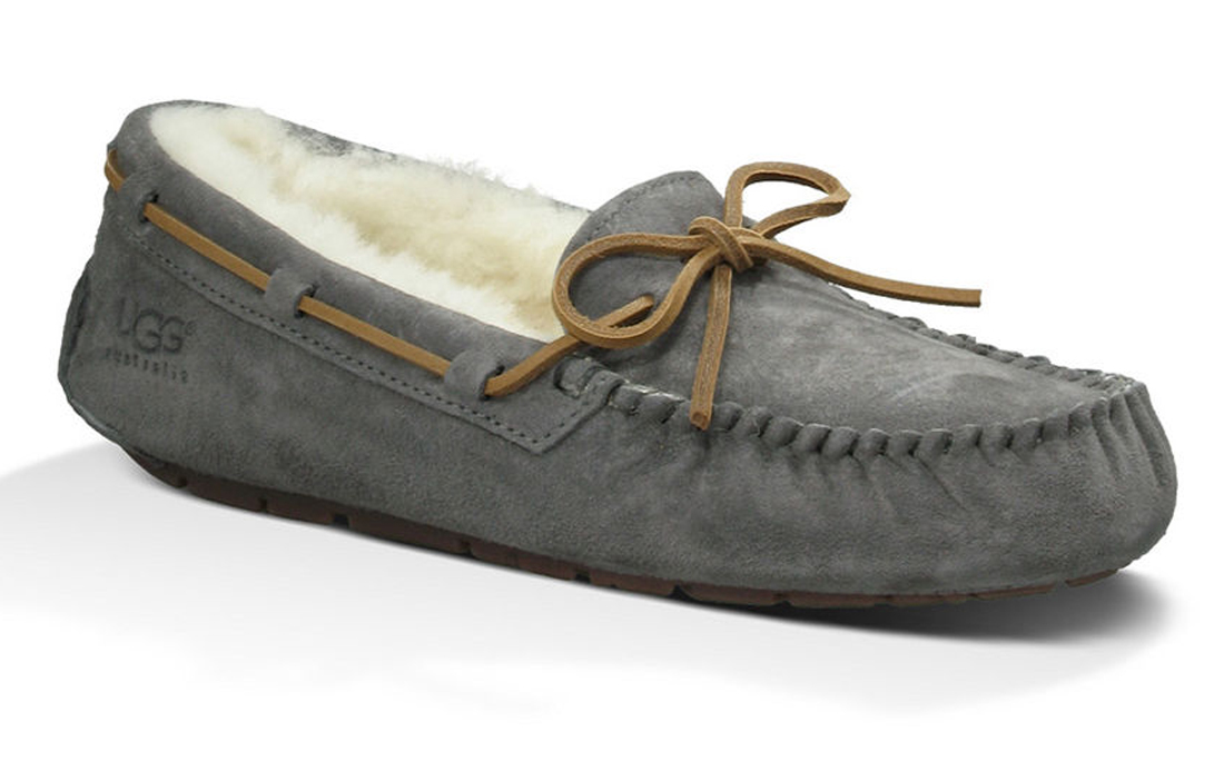 04104b48d376 UGG Women s Dakota Slippers Pewter - Shop now   Shoolu.com