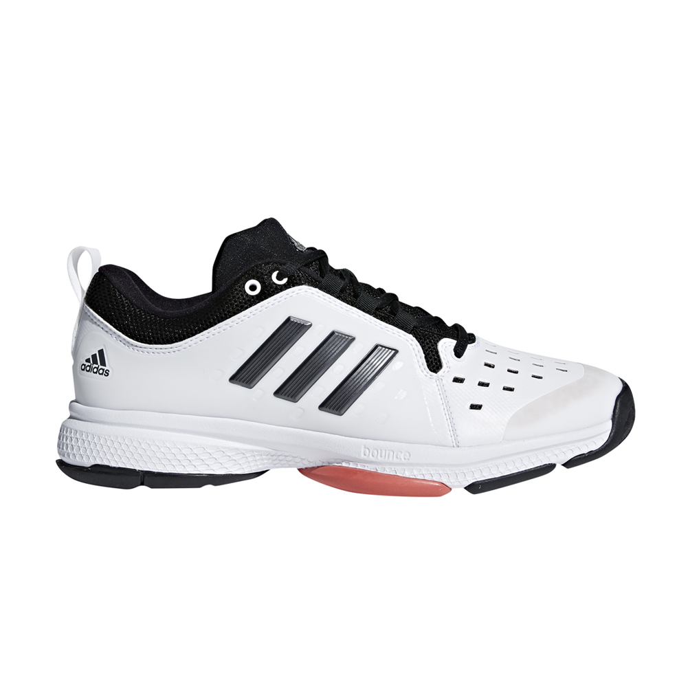 33f975cdac6121 Adidas Men s Barricade Classic Bounce Tennis Shoe White Black - Shop now    Shoolu.