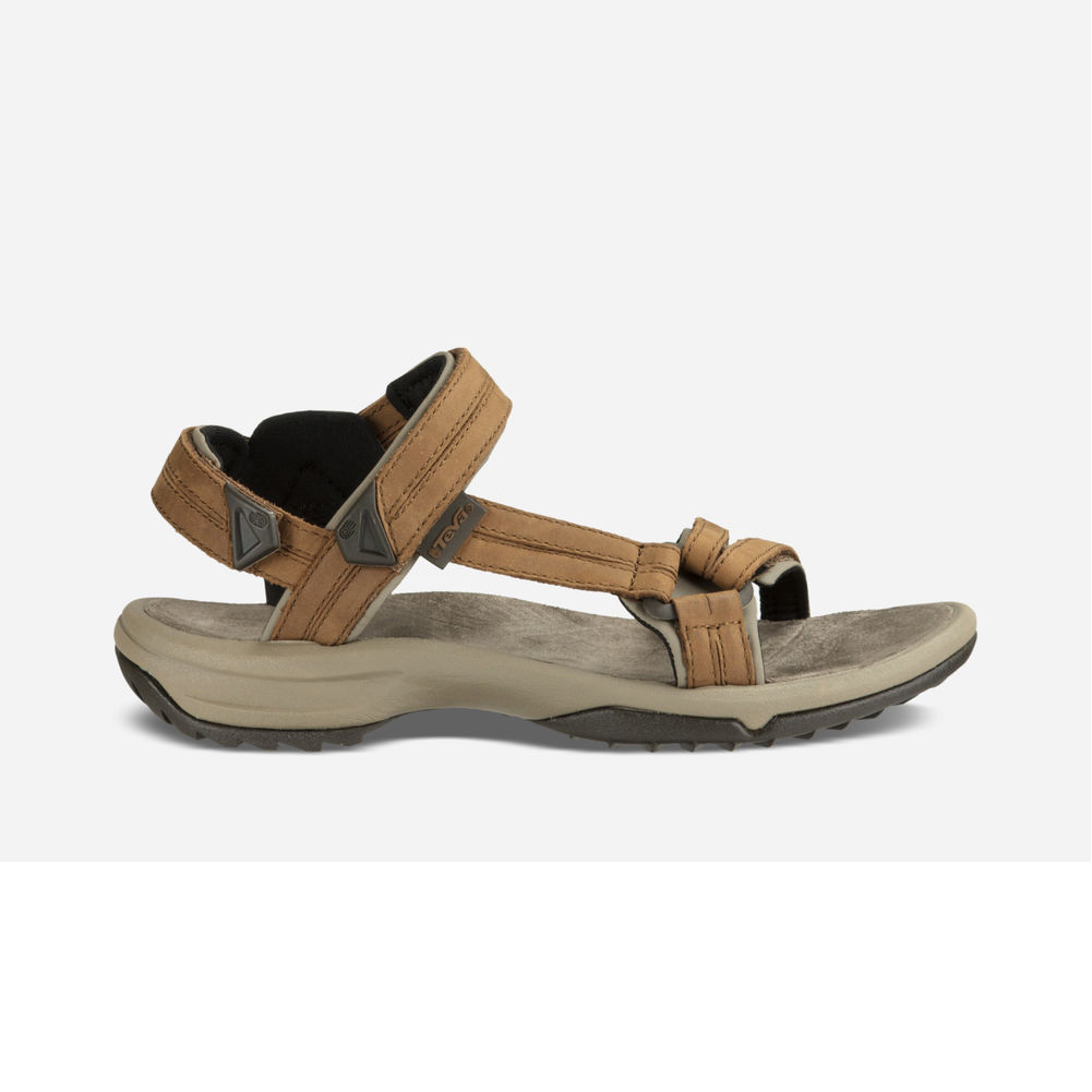 19d9fbb80894 Teva Women s Terra Fi Lite Leather Sport Sandal Brown - Shop now    Shoolu.com