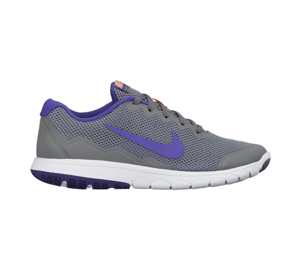 3d899dee34cb Nike Women s Flex Experience RN 4 Running Shoe Grey Purple - Shop now    Shoolu
