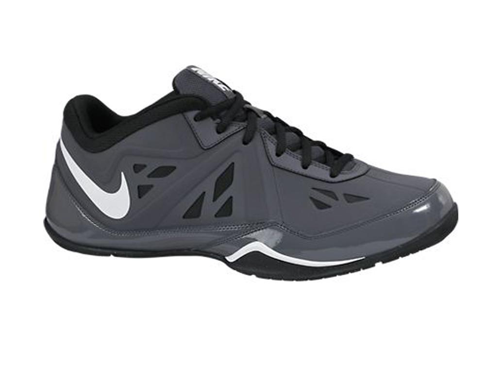 e2ddf0d695f43a Nike Men s Air Ring Leader Low 2 NBK Basketball Shoes Dark Grey Black - Shop