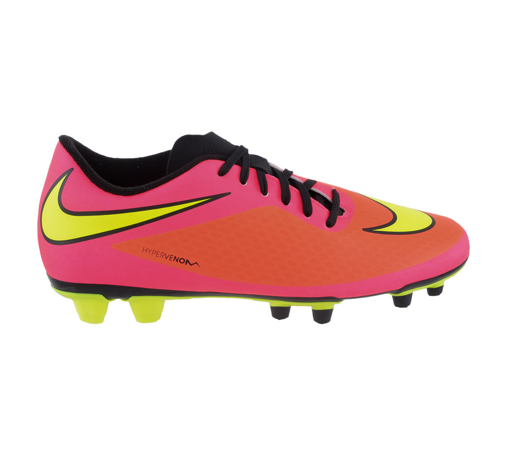 5254a11fc Nike Men s Hypervenom Phade FG Soccer Cleats Crimson Punch - Shop now    Shoolu.