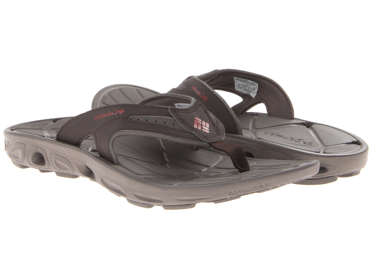 e550a6aa6168 Columbia Men s Techsun Vent Flip Sandals Cordovan Gypsy - Shop now    Shoolu.com