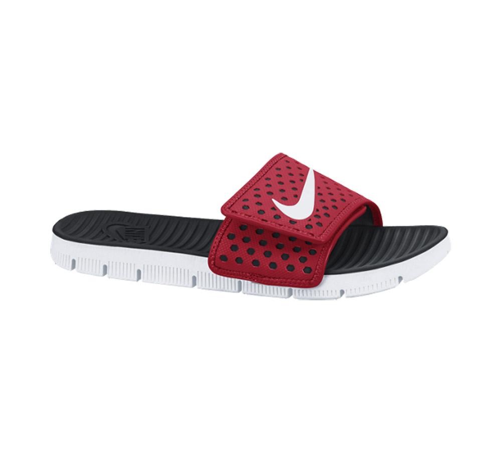 78513d90eeeb New Nike Men s Flex Motion Slide Sandal Red Wht Blk - Shop now