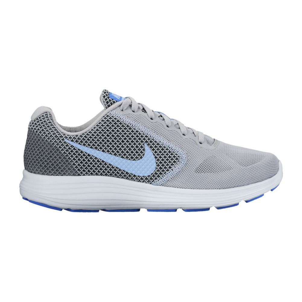 brand new c7a5f af718 Nike Women s Revolution 3 Running Shoe Grey Blue Tint - Shop now   Shoolu.