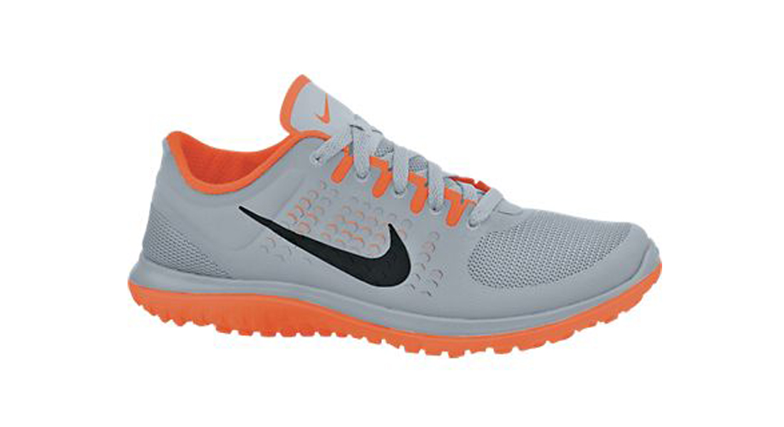 2c24b773d73 Nike Men s FS Lite Run Running Shoes - Wolf Grey Total Orange Black ...