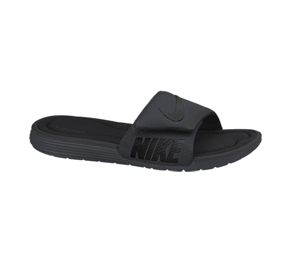 5342c7975f68 Nike Men s Solarsoft Comfort Slide Black Anthracite - Shop now   Shoolu.com