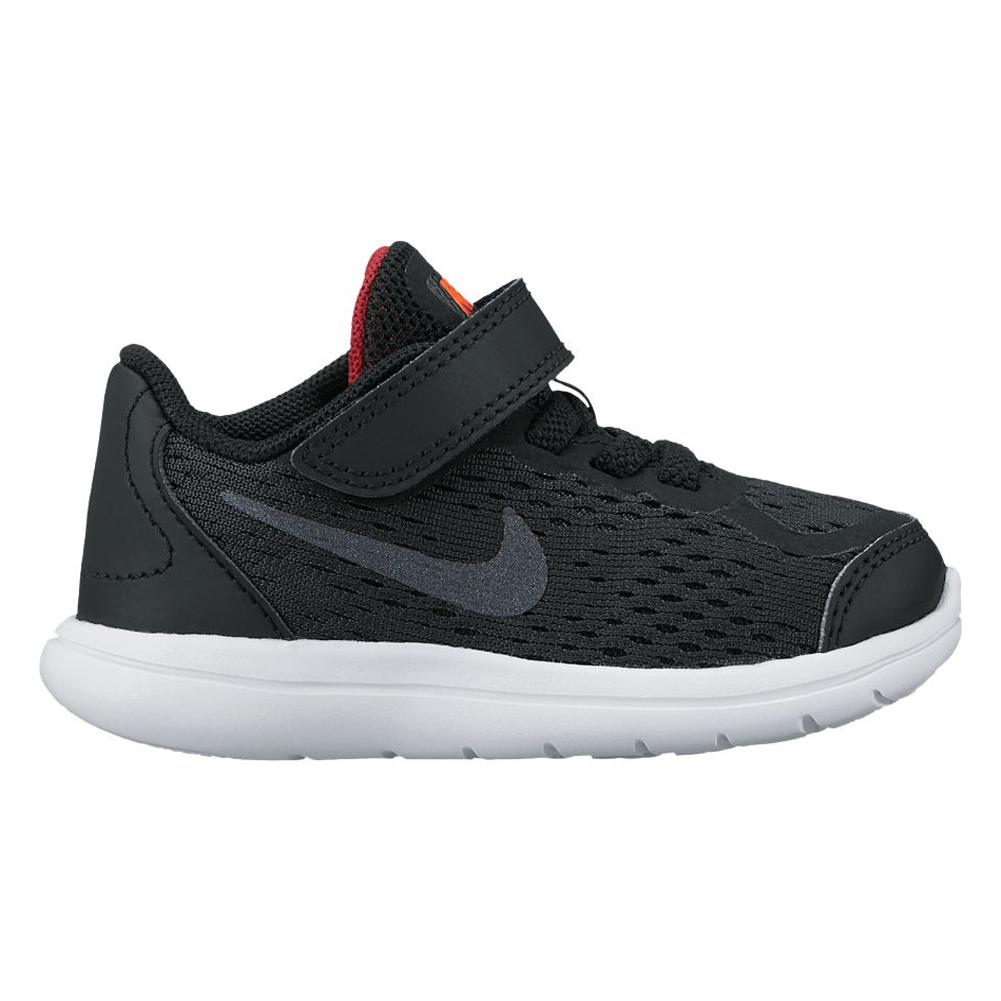 5dcf45dc18ae Nike Baby Boy s Flex 2017 RN Athletic Shoe Black Red - Shop now   Shoolu