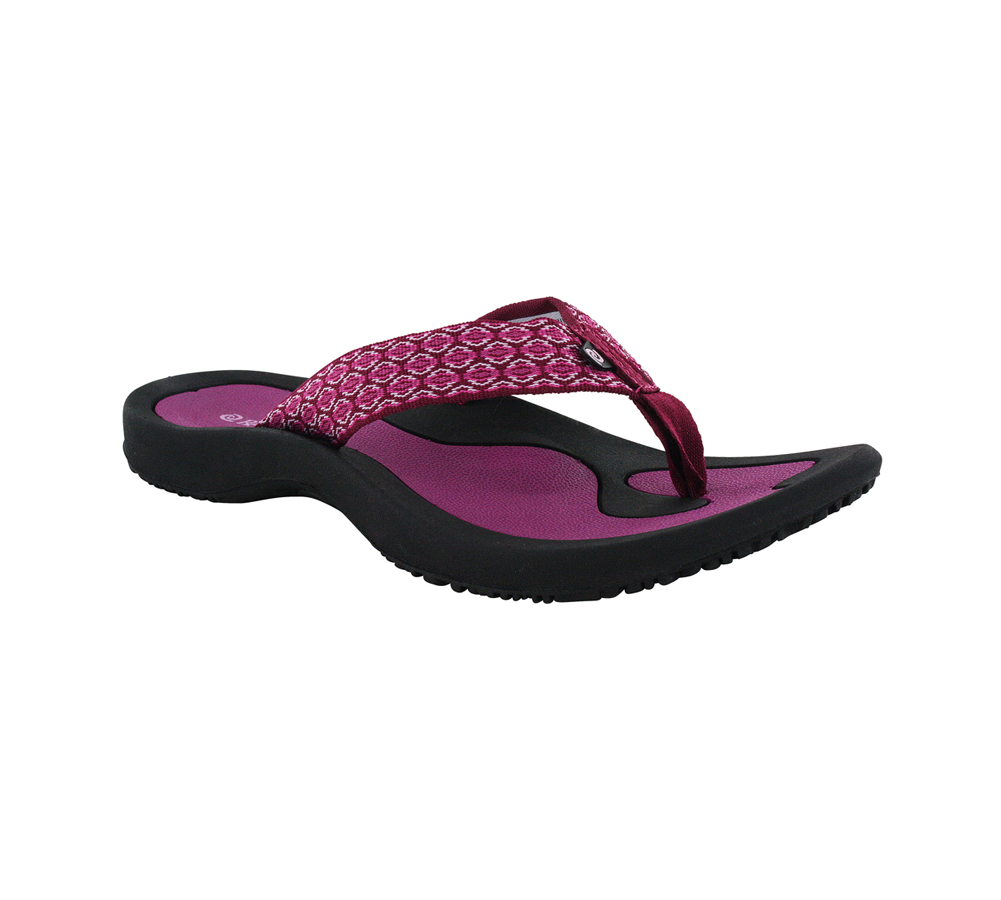 d619526d052929 Rafters Women s Breeze Flip Flops Berry - Shop now   Shoolu.com