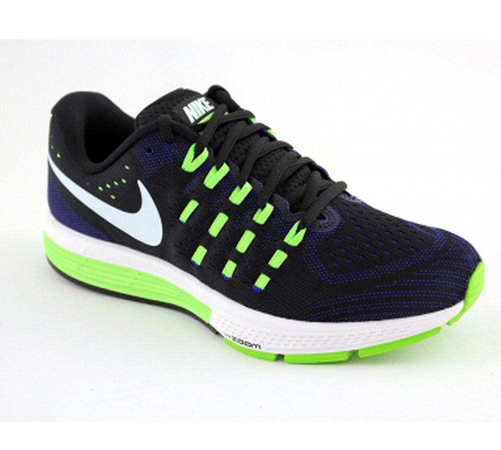 7486504922f61 Nike Men s Air Zoom Vomero 11 Running Shoe Black Green - Shop now   Shoolu